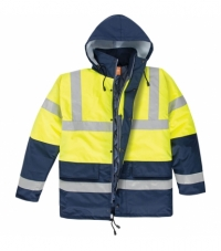 NORTHER HI-VIS İki Renkli Kaban