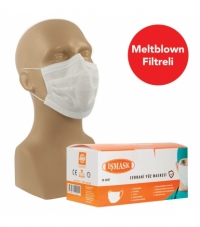 İşmask Ultrasonik Meltblown Maske 50'lik Kutu